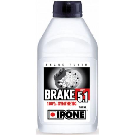 LIQUIDE DE FREIN BRAKE DOT 5.1 SYNTHETIC IPONE 500ML