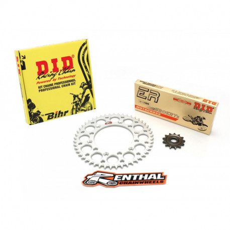 Kit chaine DID RENTHAL 420 type NZ3 14/50 KTM SX 65 2004-11