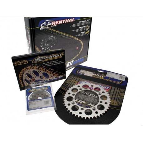 Kit chaine RENTHAL 520 type R1 13/48 KTM SX 125 2001-18