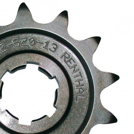 Pignon RENTHAL 13 dents acier standard pas 520 type 253 Honda CRF 450 2002-18