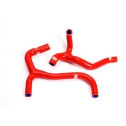 Durites de radiateur SAMCO kit transformation Y rouge 2 durites Honda CRF 450 2003-04