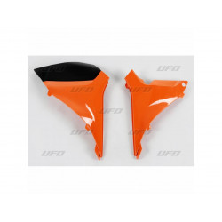 Caches boîte à air UFO orange KTM SXF 250 350 450 2011