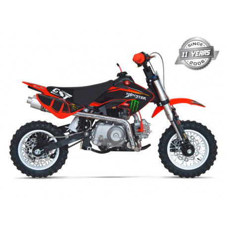 MOTO ENFANT PIT DIRT BIKE GUNSHOT 50 - Edition MONSTER - 2018