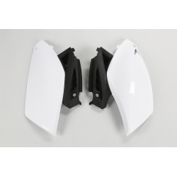 PLAQUES LATERALES blanche Yamaha YZF 250 10/13