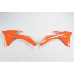 OUIES DE RADIATEURS UFO orange KTM SX/F SX 125 250 350 450 11/12
