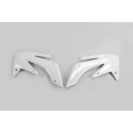 OUIES DE RADIATEURS UFO blanc Yamaha YZF WRF 250 450 14/19