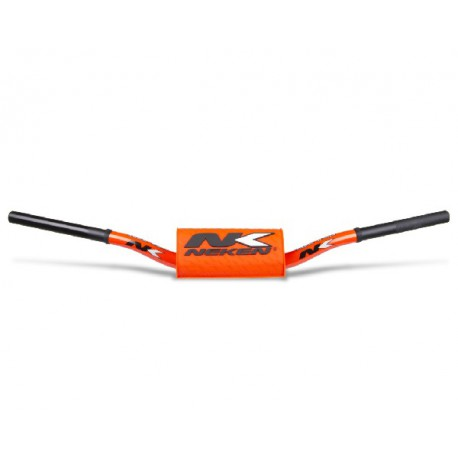 GUIDON HAUT NEKEN RADICAL DESIGN ORANGE FLUO 28,6mm 85 YZ RM CR SX KX