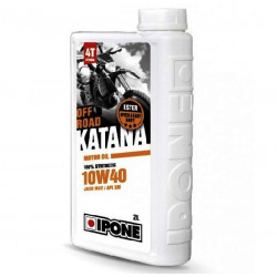 HUILE IPONE 4T KATANA OFF ROAD 100% SYNTHETIC 10W40 2L