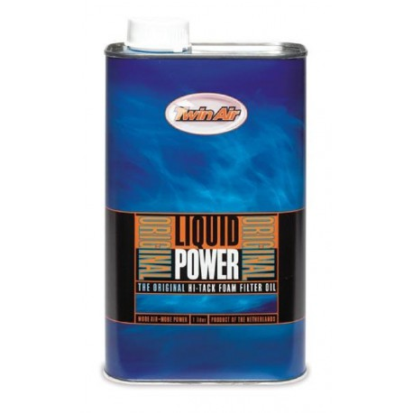 HUILE DE FILTRE A AIR LIQUIDE POWER TWIN AIR ORIGINAL CROSS BIDON 1 LITRE