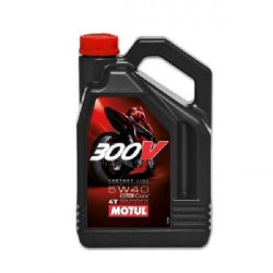 HUILE MOTEUR MOTUL 300V FACTORY LINE OFF ROAD 5W40 4T 100% SYNTHETIC 4 LITRES