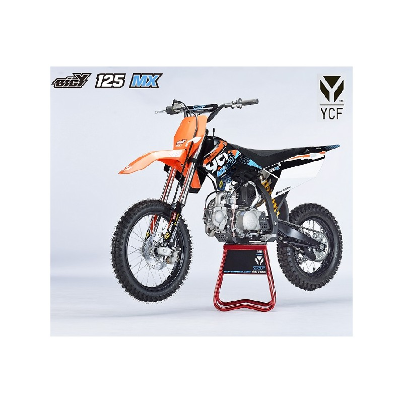 moto pit dirt bike ycf bigy 125 mx 2017 mx. Black Bedroom Furniture Sets. Home Design Ideas