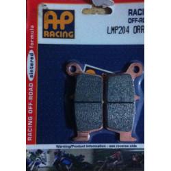 PLAQUETTES DE FREIN ARRIERE AP RACING LMP204ORR SUZUKI RM 125 96/12