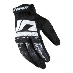 GANTS MOTO CROSS SHOT HOMOLOGUES DRIFT BLACK NOIR